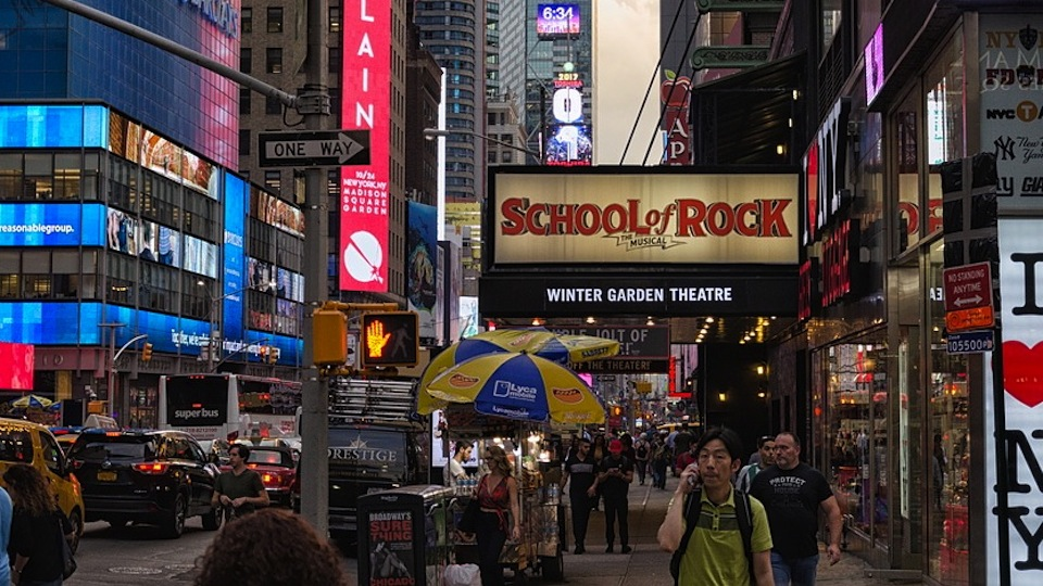 Broadway's School of Rock
