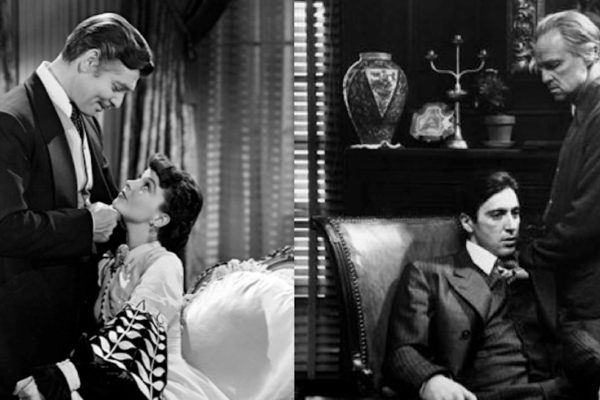 Gone with the Wind and The Godfather