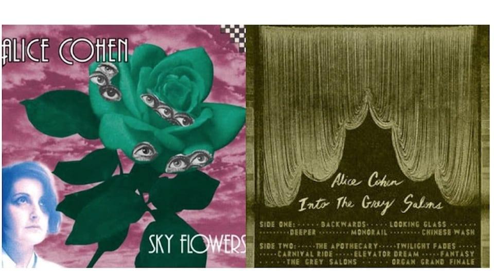 Alice Cohen LPs (Fair Use)