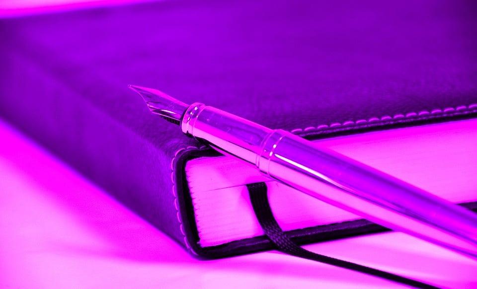Tinted book courtesy of Pixabay
