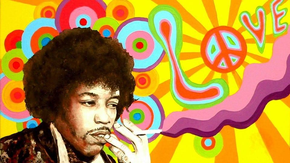 Jimi Hendrix (courtesy of Pixabay)