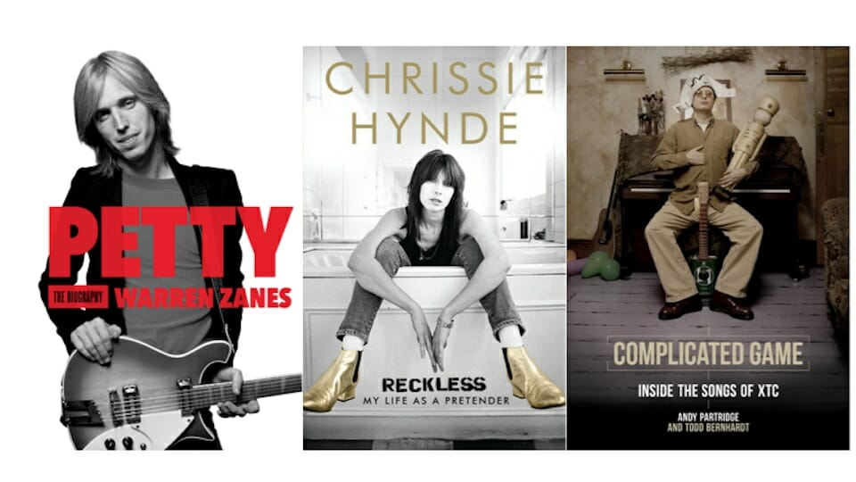 Fair use images of biographies of Tom Petty, Chrissie Hynde and Andy Partridge