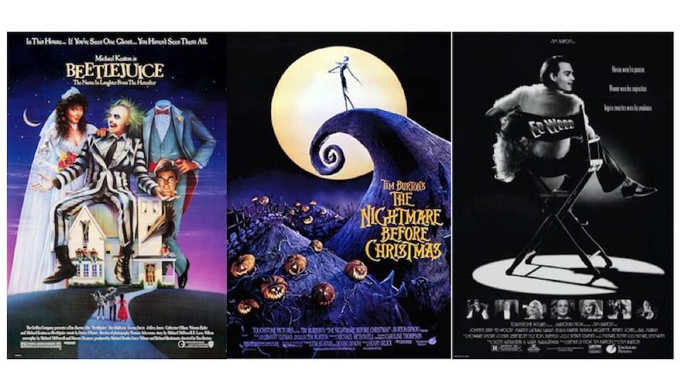 Tim Burton Movie Posters