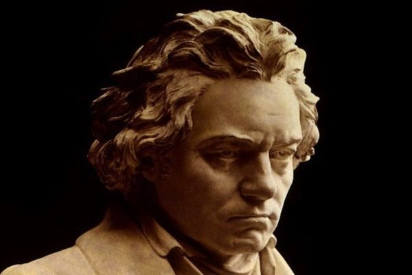 Beethoven Bust in Public Domain