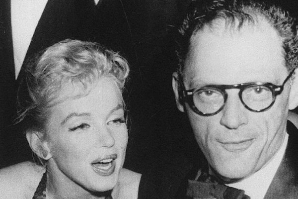 Marilyn Monroe and Arthur Miller 1957 Public Domain