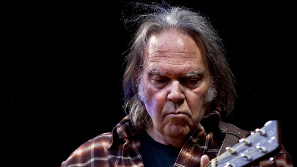 Neil Young by Per Ole Hagen via Wikimedia