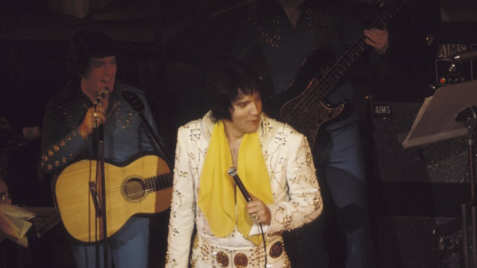 Elvis in the 70s