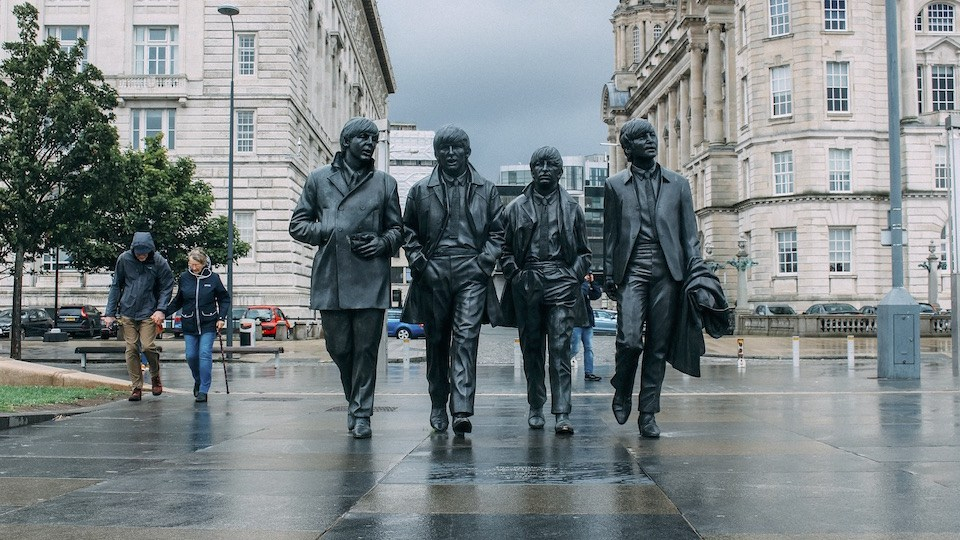 the fab four in bronze