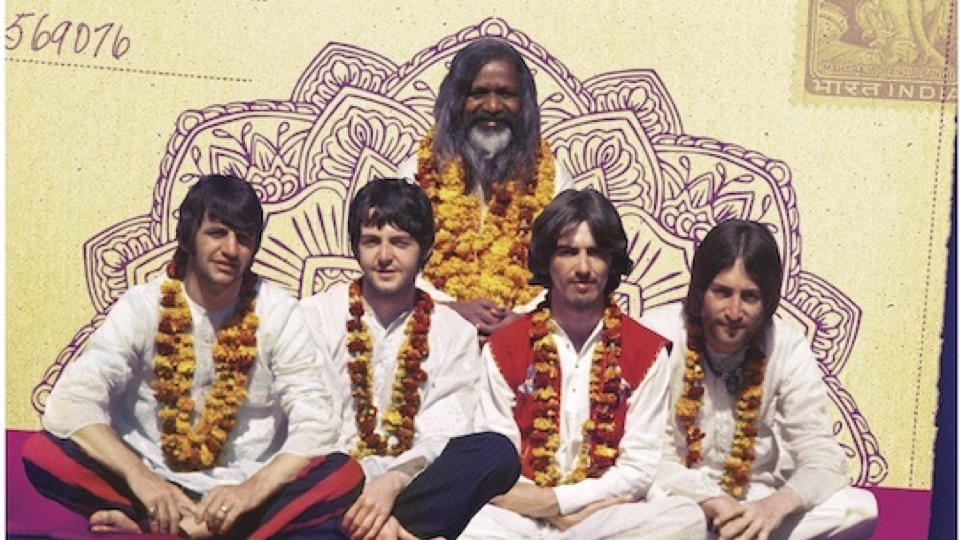 Image result for THE BEATLES INDIA IMAGES
